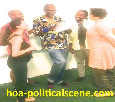 hoa-politicalscene.com: Sudanese theatrical artist Afif Ismael, المسرحي السوداني عفيف اسماعيل