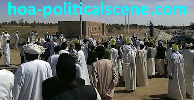 hoa-politicalscene.com/invitation-1-hoas-friends30.html: Northern Sudan demonstrations against dams.