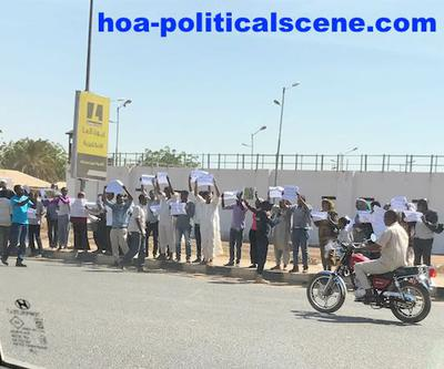hoa-politicalscene.com/invitation-1-hoas-friends83.html - People in Sudan demonstrating in front of Kober prison to free prisoners of conscious.