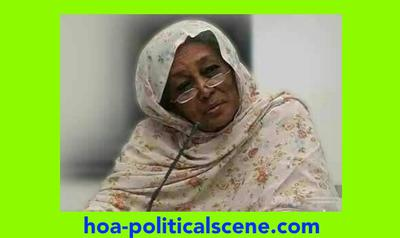 hoa-politicalscene.com/invitation-to-comment42.html -Invitation to Comment 42: You are invited to pay tribute to the Sudanese women leaders Fatima Ahmed Ibrahim on 28 October.