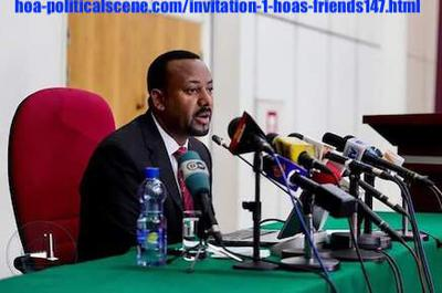 hoa-politicalscene.com/invitation-1-hoas-friends147.html - Invitation 1 HOAs Friends 147: Ethiopian PM Abiy Ahmed prevents women workers from traveling to work as domestic servants in Saudi Arabia.