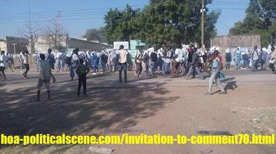 hoa-politicalscene.com/invitation-1-hoas-friends153.html: Invitation to Comment 70: Sudanese students demonstrating. الحزب الشيوعي السوداني ماله؟... إنتفاضة ديسمبر 2018م في السودان