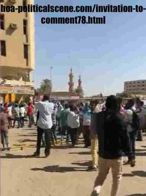Invitation to Comment 78: Sudanese December 2018 Uprising 119.