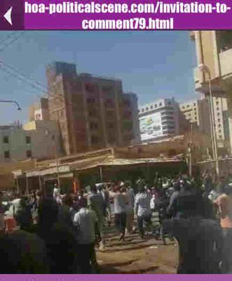 Invitation to Comment 79: Sudanese December 2018 Protests 126.
