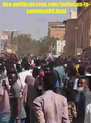 Invitation to Comment 80: Sudanese December 2018 Intifada 132.