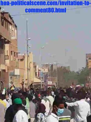 Invitation to Comment 80: Sudanese December 2018 Protests 134.