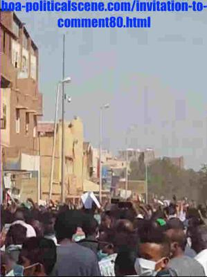 Invitation to Comment 80: Sudanese December 2018 Uprising 135.