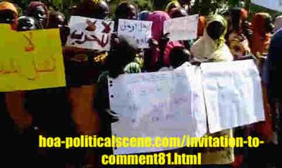 Invitation to Comment 81: Sudanese December 2018 Intifada 140.
