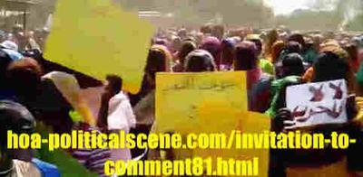 Invitation to Comment 81: Sudanese December 2018 Revolution 141.