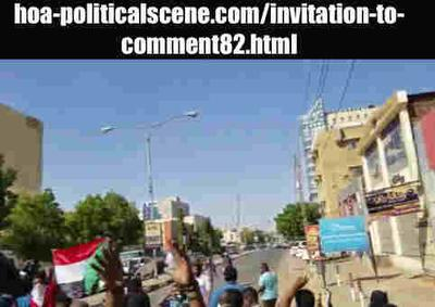 Invitation to Comment 82: Sudanese December 2018 Uprising 155.