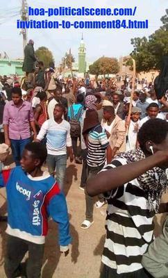 Invitation to Comment 84: Sudanese December 2018 Revolution 173.