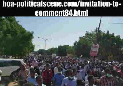 Invitation to Comment 84: Sudanese December 2018 Uprising 175.