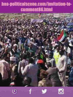Invitation to Comment 86: Poetry on Sudanese December 2018 Uprising 191.