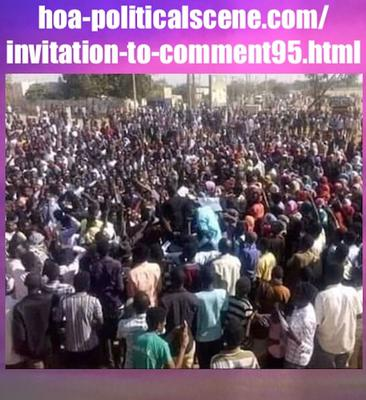 Invitation to Comment 95: Sudanese People January 2019 Intifada 288.