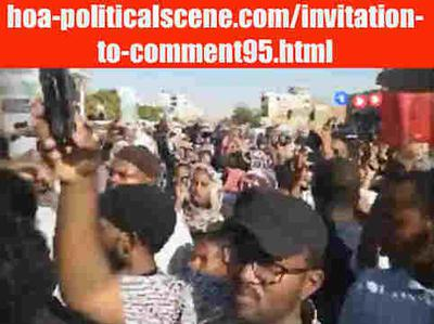 Invitation to Comment 95: Sudanese People January 2019 Uprising 291.