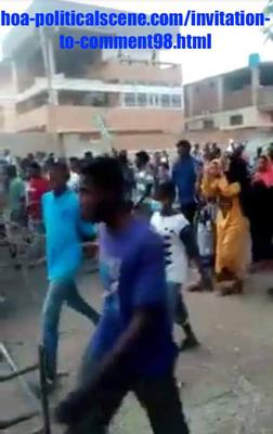 Invitation to Comment 98: Sudanese Prisoners of Conscience, January 2019 Uprising, 340.