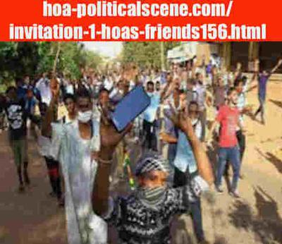 hoa-politicalscene.com/invitation-1-hoas-friends156.html: Invitation 1 HOAs Friends 156: Sudanese journalists report on human rights! protests January 2019 تقرير شبكة الصحفيين السودانيين - حقوق الإنسان. إحتجاجات ديسمبر - يناير ٢٠١٩م
