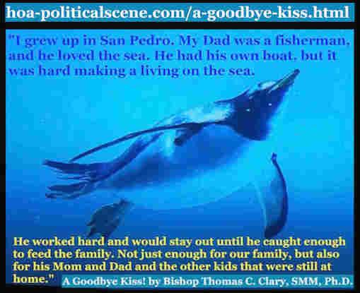 hoa-politicalscene.com/a-goodbye-kiss.htm - A Goodbye Kiss! By Bishop Thomas C. Clary, SMM, Ph.D. What you learn from this lesson is how deep your parents love goes, so you shouldn't regret.