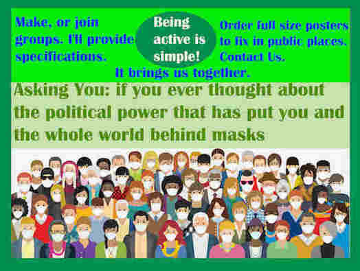 hoa-politicalscene.com/asking-you.html - Asking You: if you ever thought about the power that has put you & the whole world behind masks, by veteran activist & journalist Khalid Mohammed Osman.