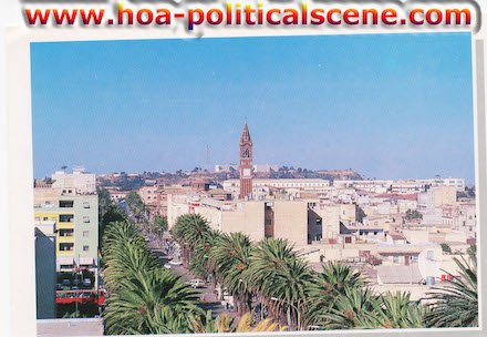 hoa-politicalscene.com/asmara.html - Asmara: The center of the capital city of Eritrea.