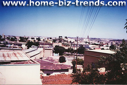 Strong Eritrean hopes in 1991-1996. Asmara from above. The Italian really have built the most beautiful city in HOA