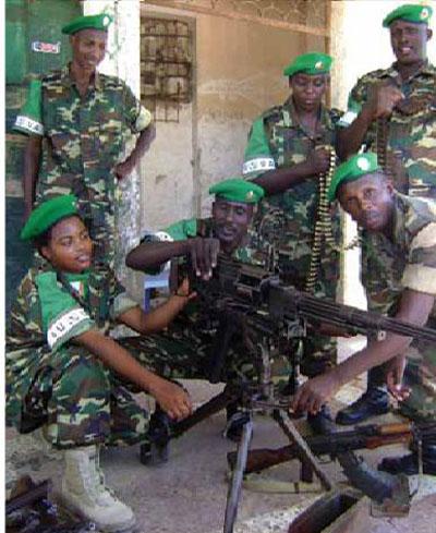 Burundian Peacekeepers Unit in Somalia - hoa-politicalscene.com