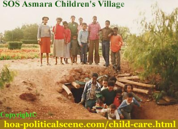 hoa-politicalscene.com/child-care.html - Child Care: Journalist Khalid Mohammed Osman, while taking care of child care with SOS to feature its efforts during wars in Asmara Children's Village.