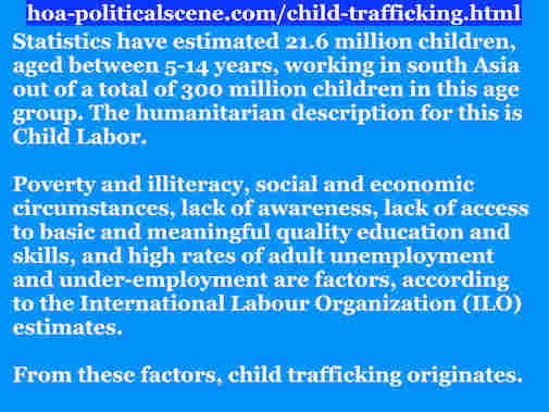 hoa-politicalscene.com/child-trafficking.html - Child Trafficking: A quote on the issue by Sudanese author, columnist, humanitarian activist and journalist Khalid Mohammed Osman to fight it.