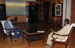 Eritrean President Isaias Talking to the Eritrean National Media