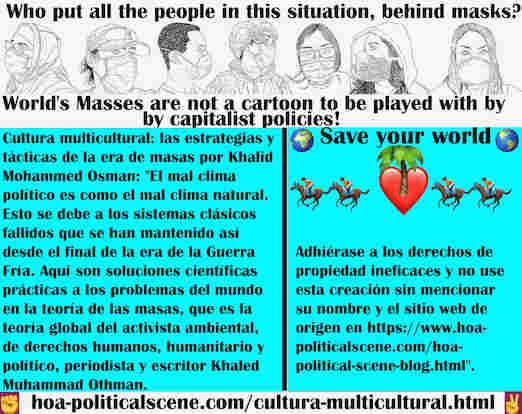 hoa-politicalscene.com/cultura-multicultural.html - Cultura multicultural: El mal clima político es como el mal clima natural, debido a los sistemas clásicos fallidos que permanecieron así desde ...