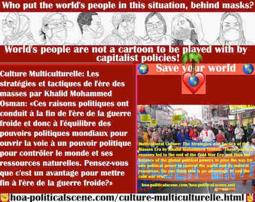 hoa-politicalscene.com/culture-multiculturelle.html - Culture Multiculturelle: Ces raisons politiques ont conduit à la fin de l'ère de la guerre froide et donc à l'équilibre des pouvoirs ...