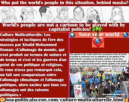 hoa-politicalscene.com/culture-multiculturelle.html - Culture Multiculturelle: L'allumage du monde s'est produit par le temps. Il s'est accompagné de l'allumage du monde par l'escalade terrorisme ...