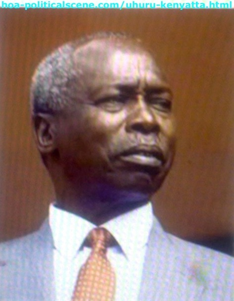 Daniel Arap Moi, the Second Kenyan President