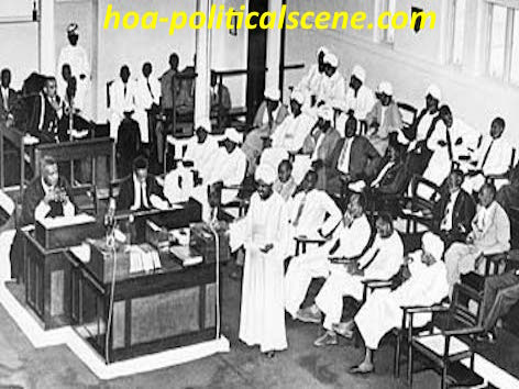 hoa-politicalscene.com/democracy-in-sudan.html - Democracy in Sudan: fu*ed badly by first Sudanese parliament in 1956 of syndicate sectarian & feudal sheikhs & assyad.
