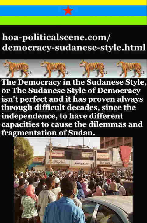 hoa-politicalscene.com/democracy-sudanese-style.html - Democracy Sudanese Style: A political quote by Sudanese journalist, columnist and political analyst Khalid Mohammed Osman in English 1.