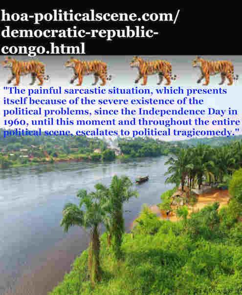 hoa-politicalscene.com/democratic-republic-congo.html: Democratic Republic Congo: Khalid Mohammed Osman's Political Quotes 1: Where lacked credibility lies?
