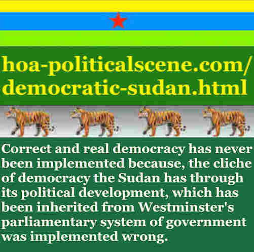 hoa-politicalscene.com/democratic-sudan.html - Democratic Sudan: A political quote by Sudanese columnist journalist and political analyst Khalid Mohammed Osman in English 2.