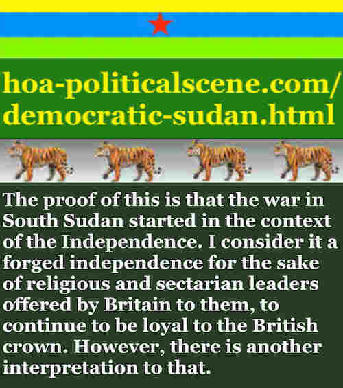 hoa-politicalscene.com/democratic-sudan.html - Democratic Sudan: A political quote by Sudanese columnist journalist and political analyst Khalid Mohammed Osman in English 5.