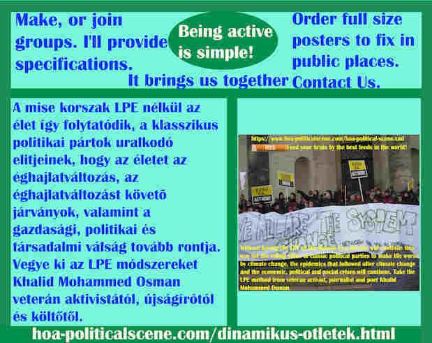 hoa-politicalscene.com/dinamikus-otletek.html - Dinamikus Ötletek: A mise korszak LPE nélkül az élet így folytatódik, a klasszikus politikai pártok uralkodó elitjeinek, hogy az életet az...
