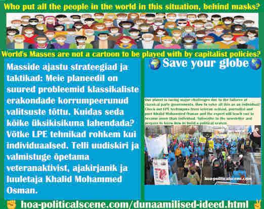 hoa-politicalscene.com/dunaamilised-ideed.html - Dünaamilised ideed: Meie planeedil on suured probleemid klassikaliste erakondade korrumpeerunud valitsuste tõttu. Kuidas seda kõike üksikisikuna ...