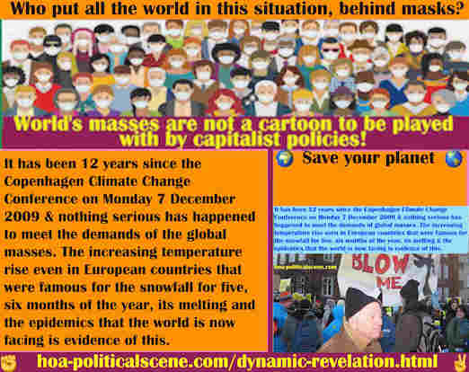 hoa-politicalscene.com/dynamic-revelation.html - Dynamic Revelation: 12 years since the Copenhagen Climate Change Conference on 2009 & nothing serious happened to meet demands of global masses.