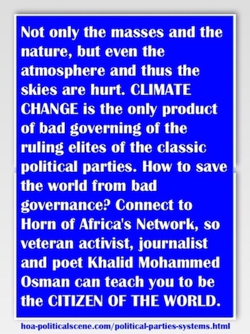 hoa-politicalscene.com/political-parties-systems.html - Political Parties Systems: Not only masses and nature, but even the skies are hurt. CLIMATE CHANGE is the only product of these parties.
