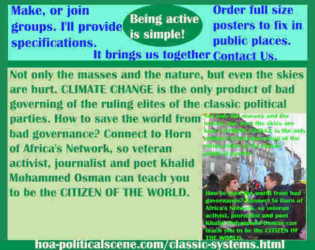 hoa-politicalscene.com/classic-systems.html - Classic Systems: Not only the masses and the nature, but even the skies are hurt. CLIMATE CHANGE is the only product of bad governing.