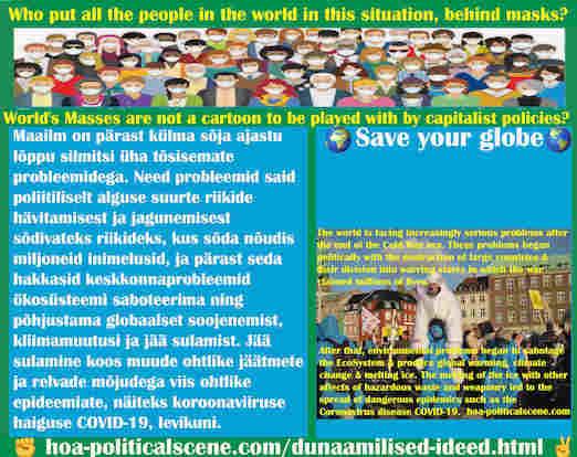 hoa-politicalscene.com/dunaamilised-ideed.html - Dünaamilised ideed: Maailm on pärast külma sõja ajastu lõppu silmitsi üha tõsisemate probleemidega. Need probleemid said poliitiliselt alguse...