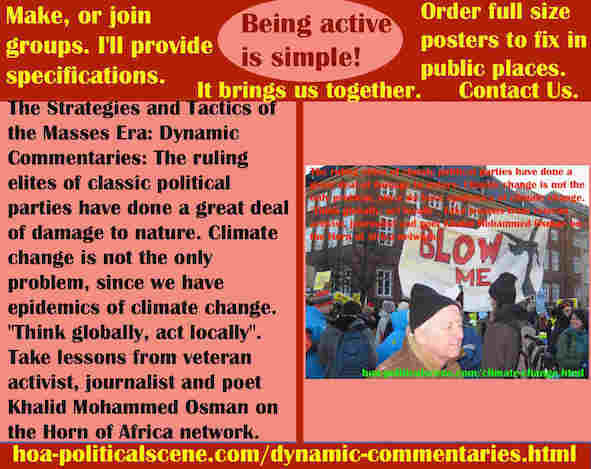 hoa-politicalscene.com/dynamic-commentaries.html - Strategies & Tactics of Masses Era: Dynamic Commentaries: Ruling elites of classic political parties have done a great deal of damage to nature.