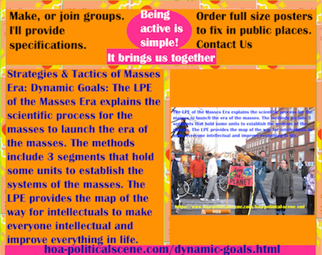 hoa-politicalscene.com/dynamic-goals.html - The Strategies and Tactics of the Masses Era: Dynamic Goals: Masses Era LPE 3 segments has systematical units to establish the systems of the masses.