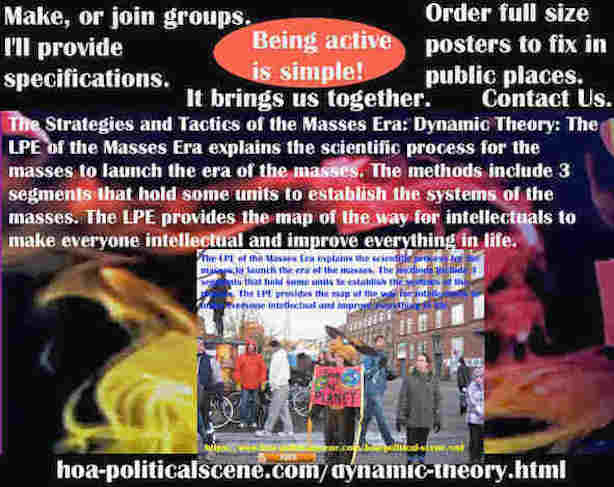hoa-politicalscene.com/dynamic-theory.html - Strategies & Tactics of Masses Era: Dynamic Theory: Masses Era LPE 3 segments, units ensure building mass systems scientifically.
