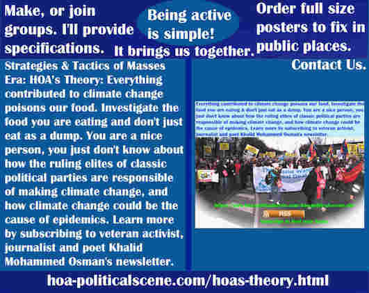 hoa-politicalscene.com/hoas-theory.html - Strategies & Tactics of Masses Era: HOA's Theory: Everything contributed to climate change poisons our food. Investigate the food you are eating.