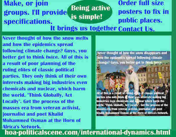 hoa-politicalscene.com/international-dynamics.html - Strategies & Tactics of International Dynamics: Never thought how snow melts & epidemics spread following it? Guys, you better think twice.