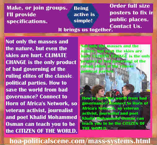hoa-politicalscene.com/mass-systems.html - Strategies & Tactics of Mass Systems: Not only the masses and the nature, but even the skies are hurt. CLIMATE CHANGE is the only product of bad governing.